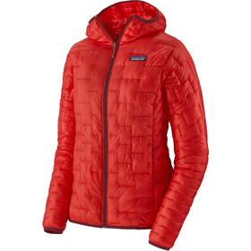 Patagonia Micro Puff Veste à capuche Femme, rouge